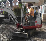 mini digger hire Bury